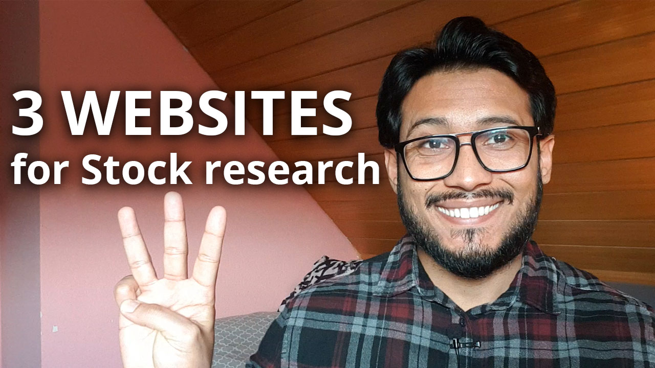 3 websites I use for stock research