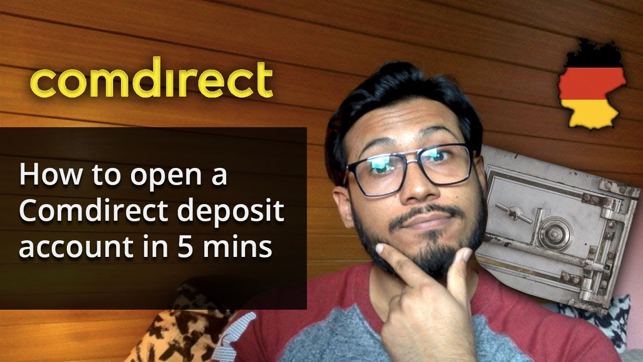 How to open a comdirect deposit account