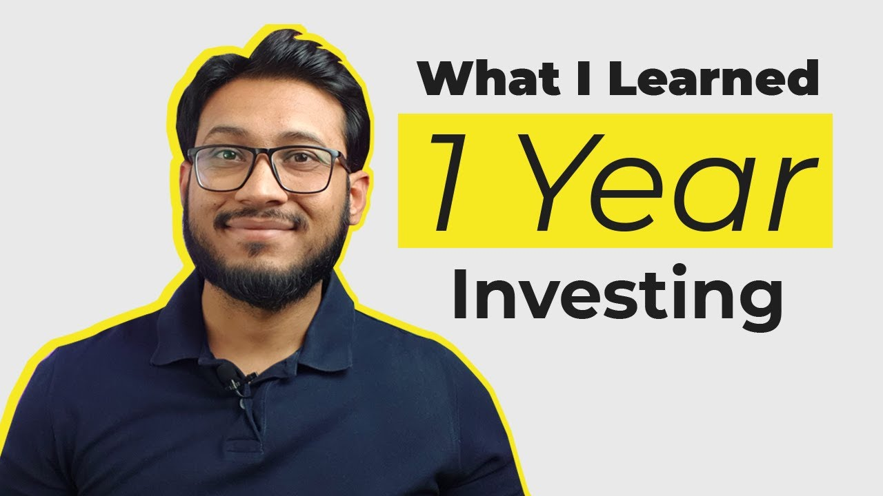 What I learned investing in Stocks for one year