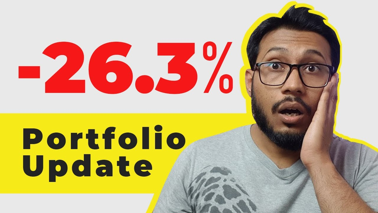 Stock Portfolio Update – 26% Loss but I am not selling